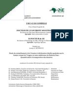 2iERapport de Thèse Lawani a. Mounirou2012