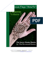"The Henna Page ""How-to"" Patterns vol. 2"