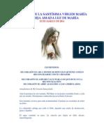 Mensaje de La Santísima Virgen María a Luz de Maria Marzo 2011