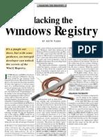 Hacking Windows Registry