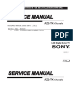 Manual Servico Tv Sony Kdl 22bx325