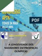 A Longevidade dos Nadadores em Presenças Olímpicas