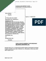 Document 79 Zeman Et Al v. Williams Et Al