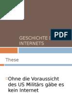 Referat Geschichte des Internets (Deutsch/German)