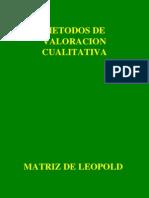 Valoración Cualitativa y Cuantitativa