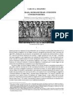 Disandro - Romanidad y Romanicidad