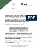 Reglas en Materia de Contabilidad Electrónica Com2014_092