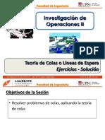 T2.2 IO II - UPN - Teoría de Colas - Ejercicio 1 - Solución
