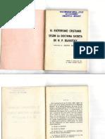 El Esoterismo Cristiano Según La Doctrina Secreta de H P Blavatsky