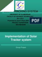 Solar Tracker Ppt