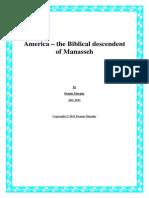 America – the Biblical Descendent of Manasseh