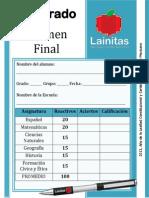 5to Grado - Examen Final (2013-2014)