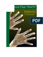 """The Henna Page """"How-to"""" Patterns vol. 1"""