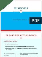 Tema 1.Paso Del Mito Al Logos