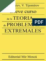 Galeev E. - Breve Curso de La Teoria de Problemas Extremales