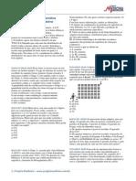 Análise Combinatória - Lista 1