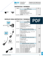 Controles Nivel Tarifa PVP SalvadorEscoda