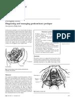 Diagnosing and Managing Genitourinary Prolapse (16)
