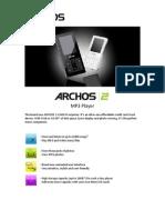 ARCHOS 2 Spec sheet_ENG_090409