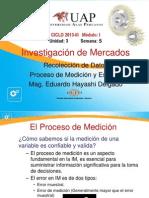 Semana 5 Recoleccion de Datos - Medicion y Escalas