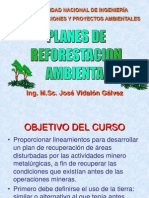 Planes de Reforestación Ambiental