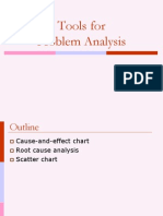 Tools for Problem Analysis