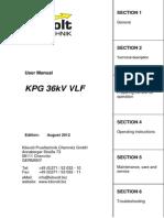 Manual KPG 36kV VLF 2012 08