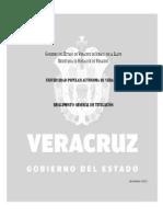 Reglamento General de Titulacion de La UPAV