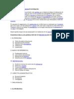La Elaboración de Los Proyectos de Investigación
