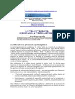 Gobernancia, lo Público, lo local y políticas públicas.doc