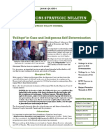 First Nations Strategic Bulletin Jan.-July 2014