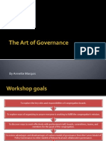 the art of governance in congregations