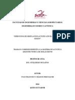 SIMULACION ACUSTICA EN EL SOFTWAREODEON