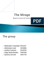 The Mirage Presentation