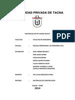 Materiales de Construcciocn - Trabajo de Escalonado - Universidad Privada de Tacna