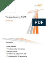 OSPF Troubleshooting