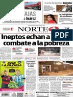 Periódico Norte edición del día 13 de julio de 2014