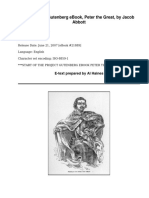 Peter the Great by Abbott, Jacob, 1803-1879