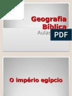 Geografia Bíblica 1 e 2
