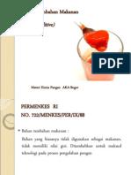 12. Bahan (Food Aditif)