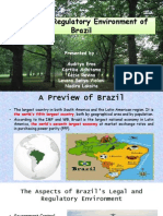 Legal and Regulatory Environment Brazil
