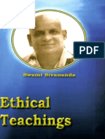 Ethical Teachings Swami Sivananda