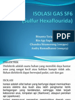 Isolasi Gas Sf6