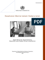 Mental Health in Emergenices Bahasa