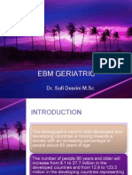 Ebm Geriatric-drug Therapy