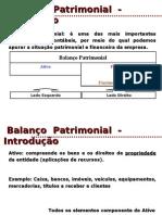 Capítulo 4 - Balanço Patrimonial