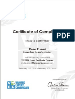 Certificate VEC en 20140212 Sample