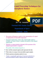 Radar signal processing, V.K.anandan