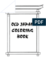 Old Japan Coloring Book