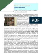 Comunicado Sobre Detencion de Santy Martin
